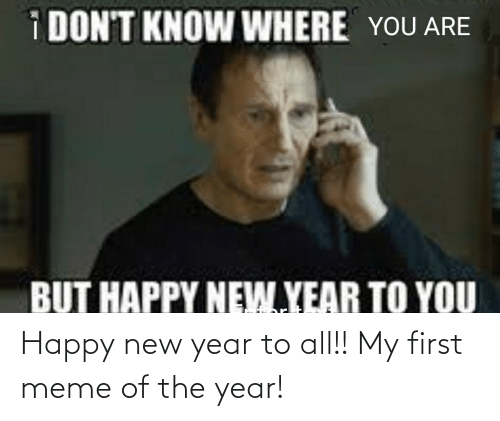 Happy New Year 2021 Memes