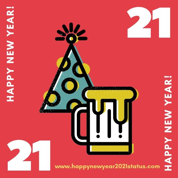 Happy New Year 2021 Status