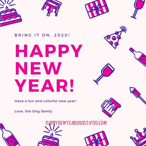 Happy New Year Status 2021 Images