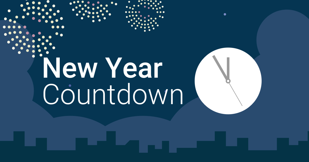 Happy New Year 2021 Countdown