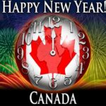 Happy New Year 2021 in Canada