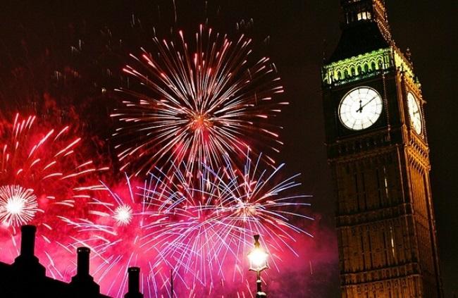 Happy New Year 2021 Celebration in London