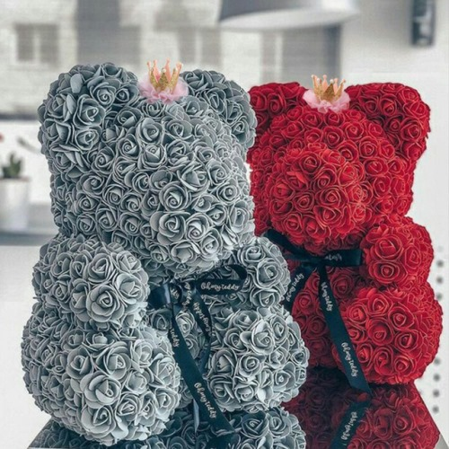 Rose Bears for Valentines Day 2021