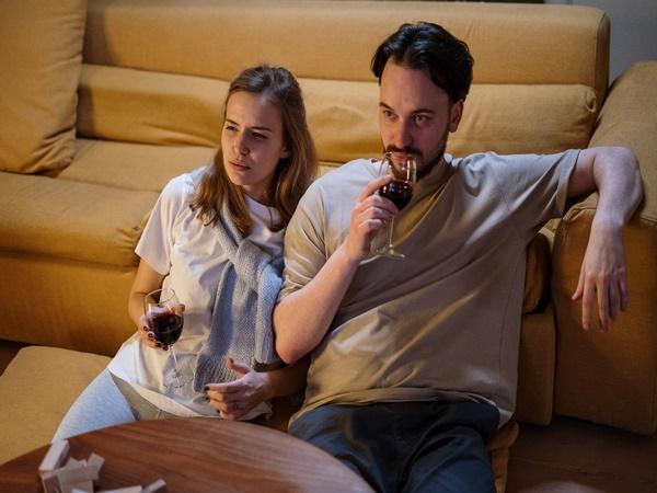 watching movie on valentines day movie