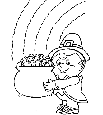 st patrick's day coloring pages pdf free